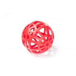 Děrovaný míč z voňavého plastu 14cm