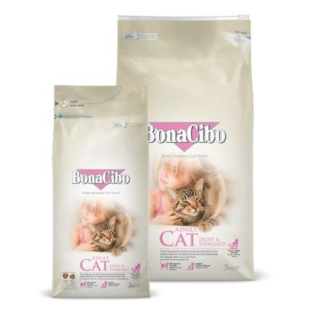 BonaCibo Adult Cat Light & Sterillised