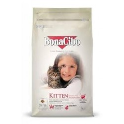 BonaCibo Kitten Chicken with Anchovy & Rice 1kg