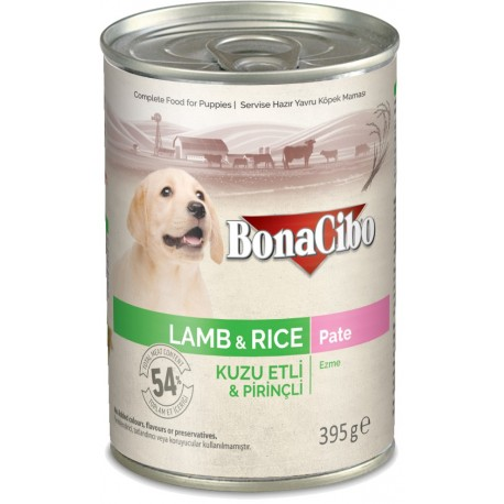 BonaCibo Puppy Lamb&Rice Paté