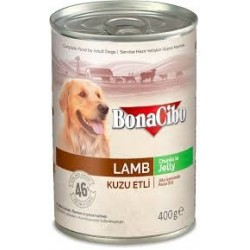 BonaCibo Adult Lamb Chunks in Jelly