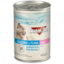 BonaCibo Adult Cat Sardine & Tuna Paté