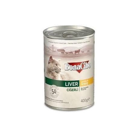 BonaCibo Adult Liver Chunks in Gravy